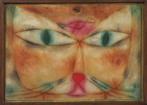 Paul Klee  Cat and Bird  WikiPrints.org