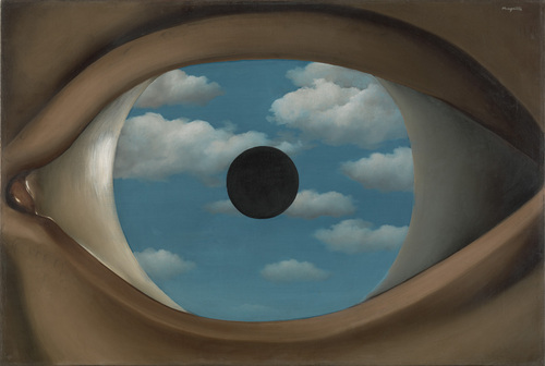 Rene Magritte   The False Mirror
