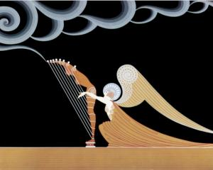 the-angel by Erte